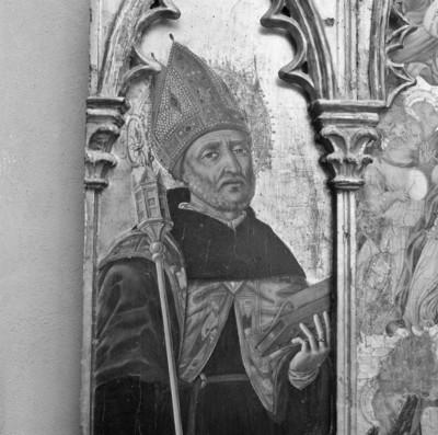 linker Flügel: der heilige Nikolaus von Bari
