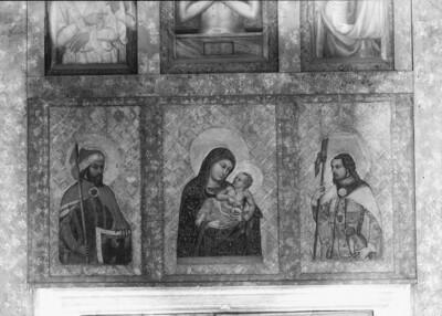 Madonna mit den beiden Heiligen Wenzel und Palmatius