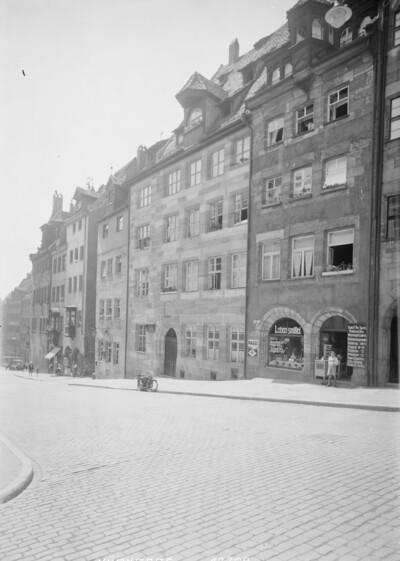 Wolgemut-Haus, Nürnberg, Burgstraße 21