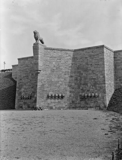 Mühlhäuser Löwe / Denkmal für die Gefallenen des Ersten Weltkriegs, Mühlhausen in Thüringen