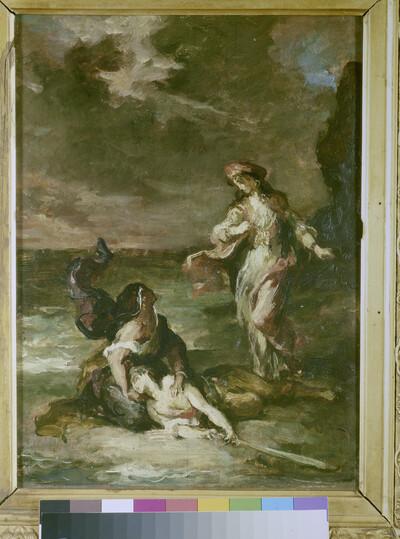 Roger befreit Angelika oder Heiliger Georg