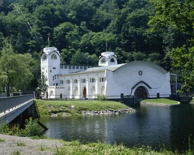 Image from object titled Wasserkraftwerk, Heimbach Kreis Düren