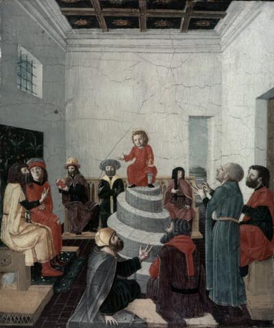 Christus und die Schriftgelehrten