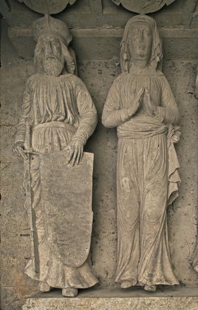 Kenotaph des Markgrafen Konrad von Wettin und mehrerer seiner Familienmitglieder — Liegefigur des Markgrafen Konrad der Große