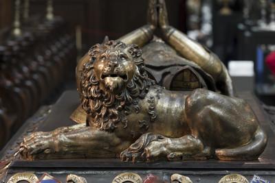 Grabmal Karls des Kühnen von Burgund (+ 1477) — Löwe