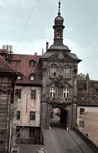 Altes Rathaus mit Brückenturm — Brückenturm, Bamberg, Obere Brücke & Untere Brücke
