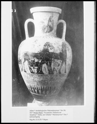 Frühattische Amphora