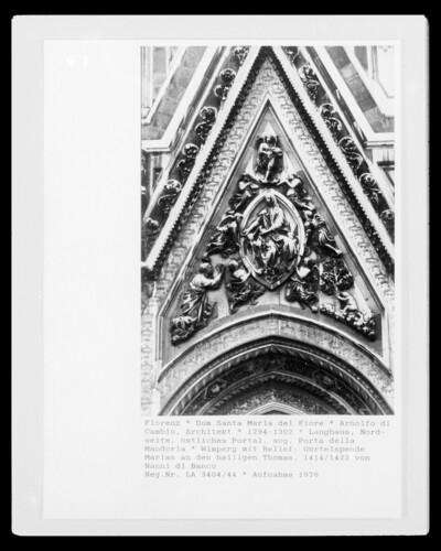 Gürtelspende der Maria an den Heiligen Thomas