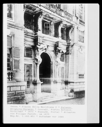 Palazzo Brignole-Durazzo, Genua, Piazza della Meridiana 2
