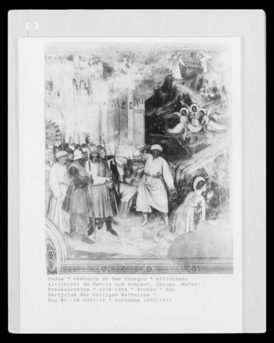 Freskenzyklus — Legende der heiligen Katharina
