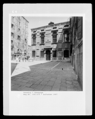 Image from object titled Synagoge, Venedig - Ghetto Vecchio