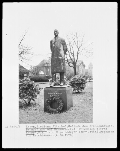 Statue des Friedrich Alfred Krupp