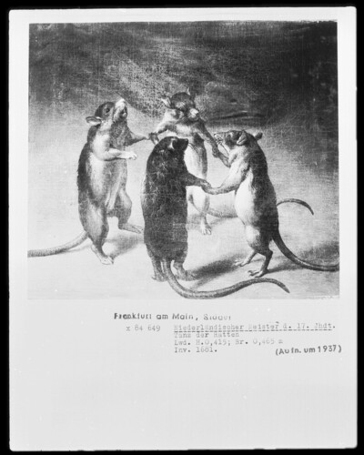 Image from object titled Tanz der Ratten