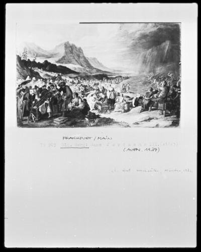 Der Zug der Israeliten aus Ägypten