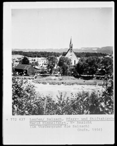Katholische Pfarr- und Stiftskirche Zu Unserer Lieben Frau, Laufen Kreis Berchtesgadener Land