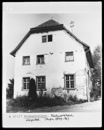Wohnhaus, Salem Bodenseekreis - Mimmenhausen (Salem Kreis Überlingen), Feuchtmayer-Straße 1