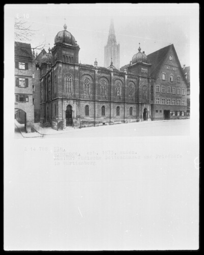 Image from object titled Synagoge, Ulm