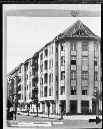 Wohn- und Geschäftshaus, Berlin - Charlottenburg (Berlin), Witzlebenstraße 1