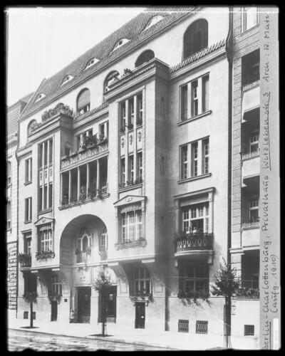 Wohnhaus, Berlin - Charlottenburg (Berlin), Witzlebenstraße 3