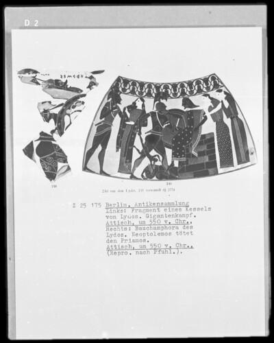 Neoptolemos tötet Priamos