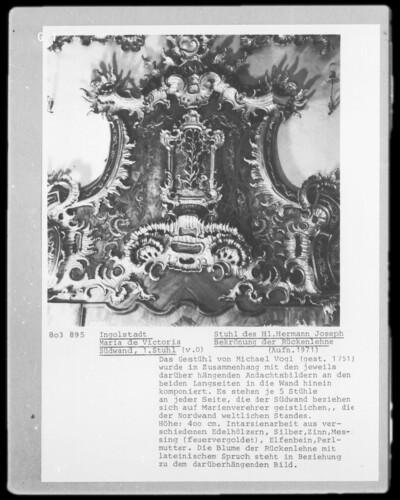 Stuhl des Heiligen Hermann Joseph