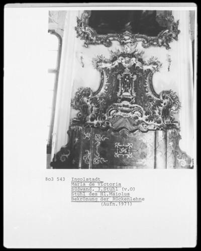 Stuhl des Heiligen Maiolus