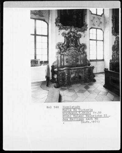 Stuhl Kaiser Heinrichs II.