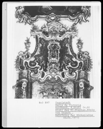 Stuhl des Heiligen Stephan, König von Ungarn