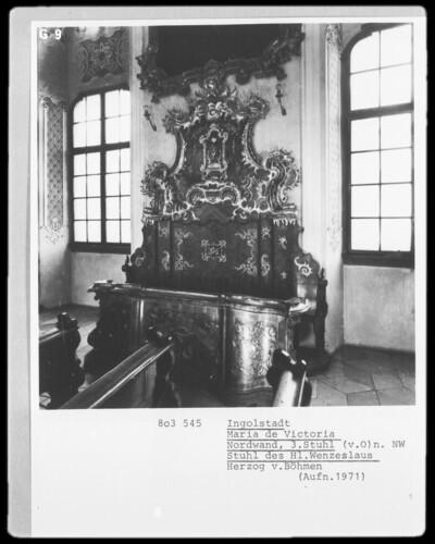 Stuhl des Heiligen Wenzeslaus, Herzog von Böhmen