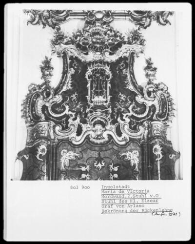 Stuhl des Heiligen Elzear, Graf von Arlano
