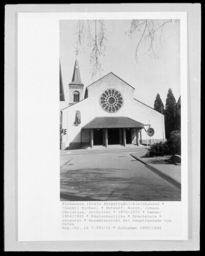 Katholische Pfarrkirche Sankt Michael, Einhausen (Kreis Bergstraße) - Kleinhausen (Einhausen)
