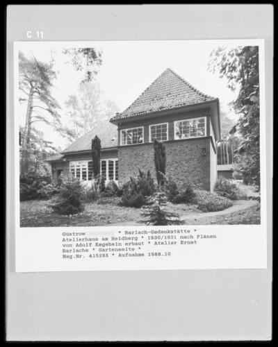 Barlach-Haus, Güstrow, Heidberg 15