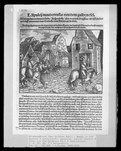 Metamorphoses (Der Goldene Esel) - Roman in elf Büchern — Szene aus dem Goldenen Esel