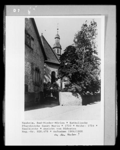 Katholische Pfarrkirche Sankt Maria, Bad Nauheim - Nieder-Mörlen