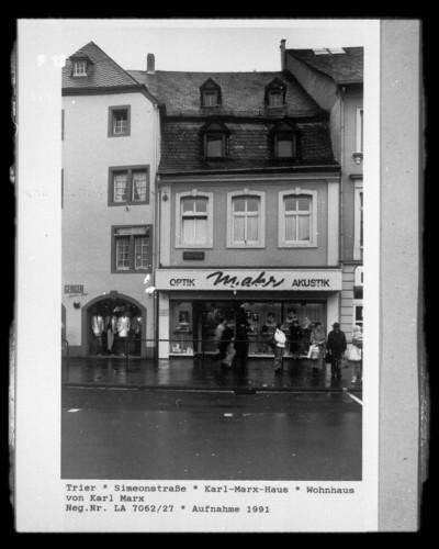 Wohnhaus des Karl Marx, Trier, Simeonstraße