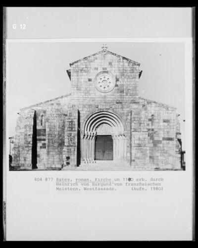 Igreja de São Pedro de Rates, Rates