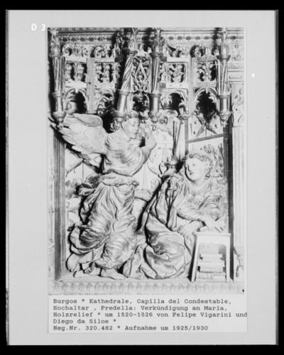 Marienaltar der Capilla del Condestable — Predella