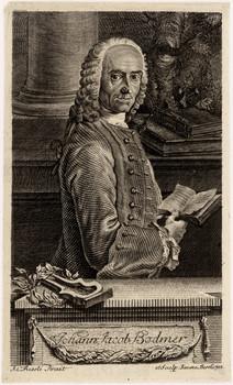 Porträt Johann Jacob Bodmer.