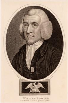 Porträt William Bowyer der Jüngere.