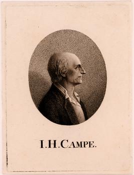 Porträt Joachim Heinrich Campe.