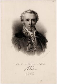 Porträt Johann Friedrich von Cotta.