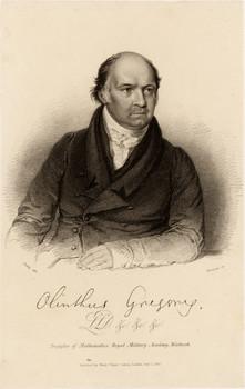 Porträt Olinthus Gilbert Gregory (1774 - 1841)