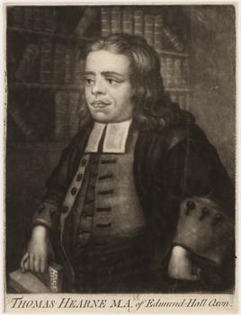 Porträt Thomas Hearne (1678 - 1735)