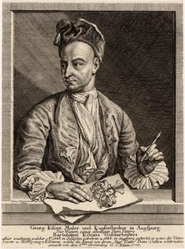 Porträt Georg Kilian (1683 - 1745)