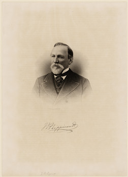 Porträt Joshua Ballinger Lippincott (1813 - 1886)