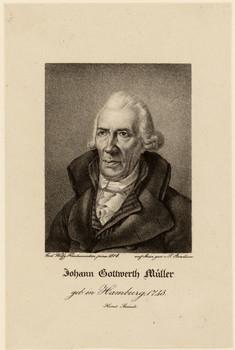 Porträt Johann Gottwerth Müller (1743 - 1828)
