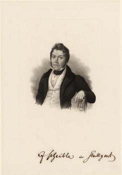 Image from object titled Porträt Johann Scheible (1806 - 1866).