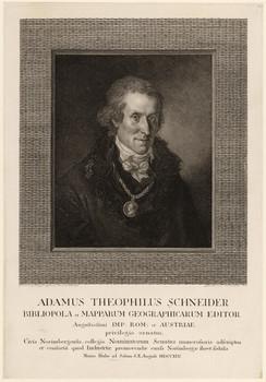 Porträt Adam Gottlieb Schneider (1745 - 1815).