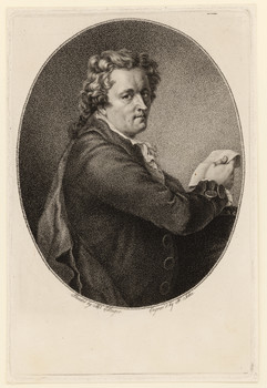 Porträt Johann Baptist Strobel (1748 - 1805).
