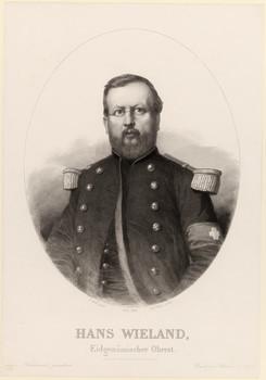 Porträt Johannes Wieland (1825 - 1864).